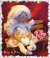 Andělka - s oranžovými šatičkami