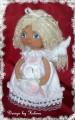 Andělka se srdíčkem pevně stojící II.