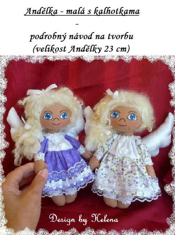 NÁVOD - Andělka - malá s kalhotkama