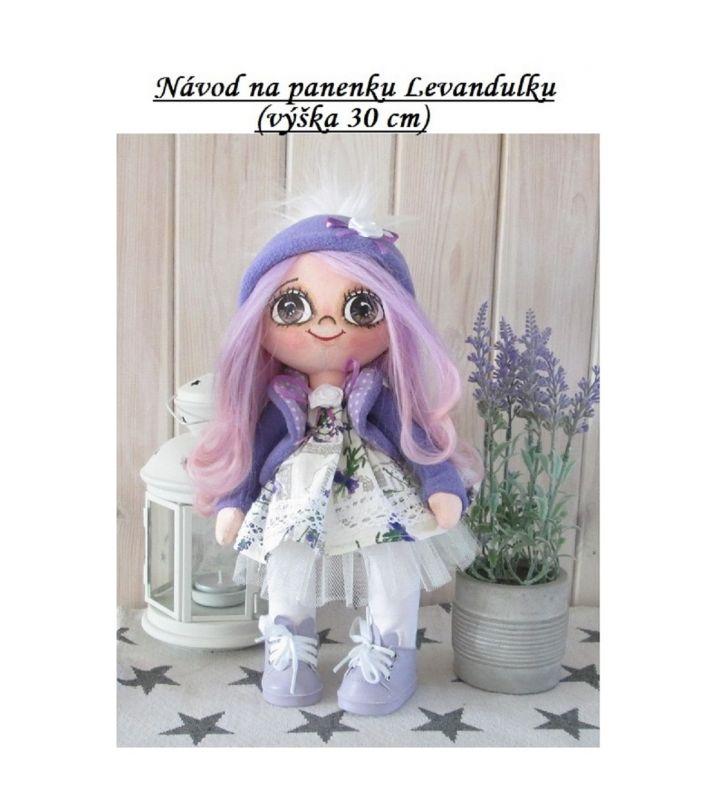 Kurz na ušití panenky Levandulky, 30 cm